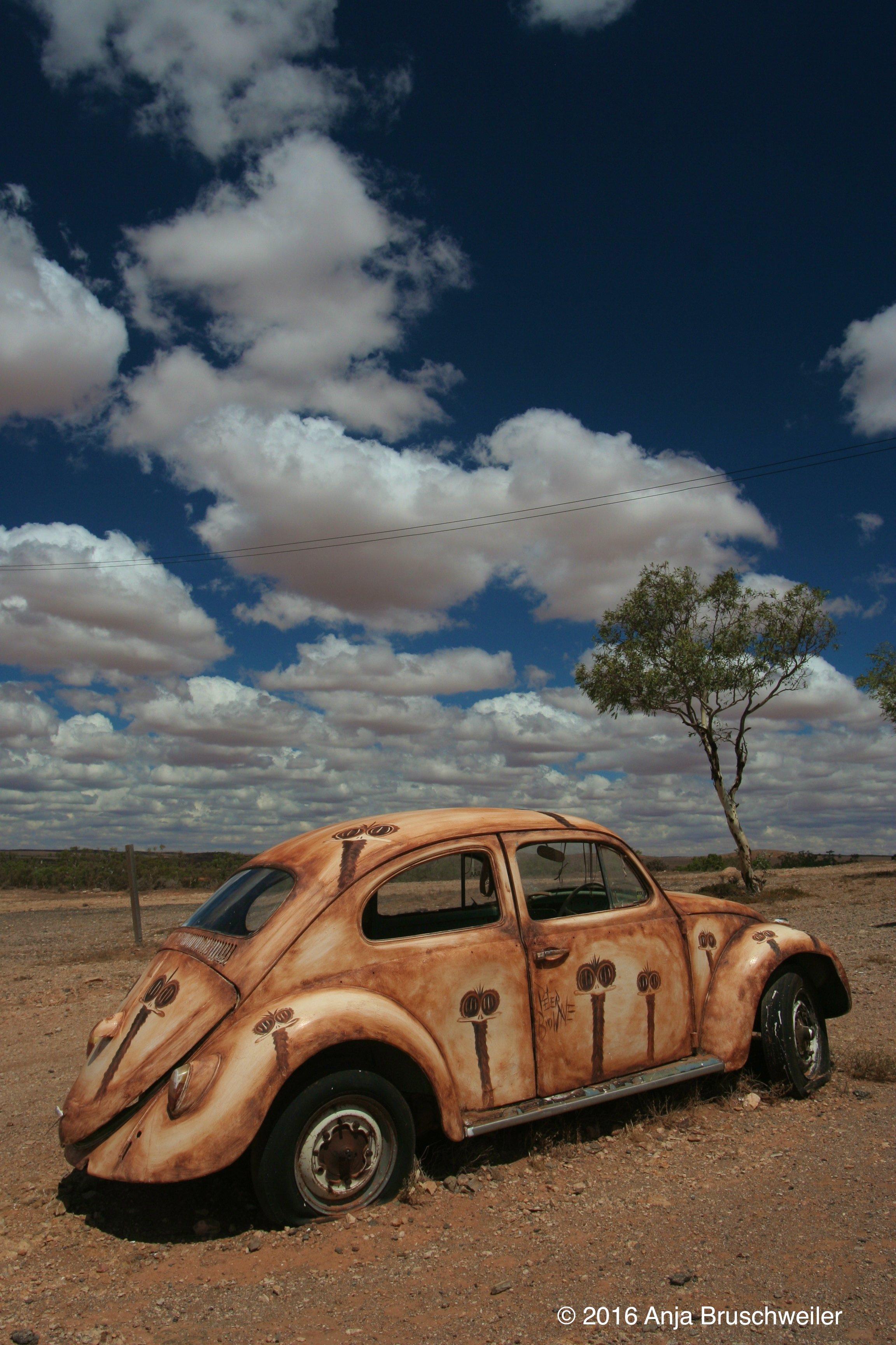 car sky