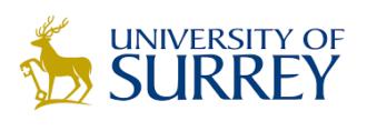 unisurrey logo