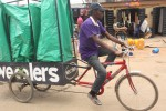 Pedal-powered recycling in Nigeria