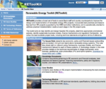 World Bank Renewable Energy Toolkit (REToolkit)